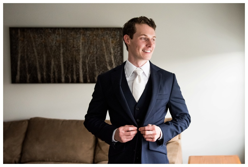 Groom Portraits - Calgary Wedding Photographer