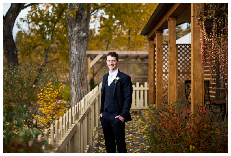 Groom Portraits - Calgary Wedding Photographers