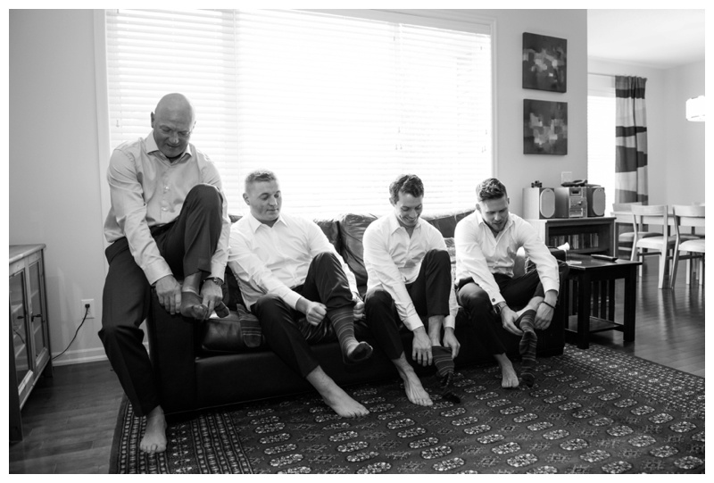 Groom Prep Wedding Photo Calgary