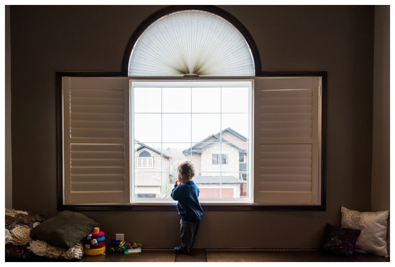 In Home Family Session - Cochrane Family Photographer