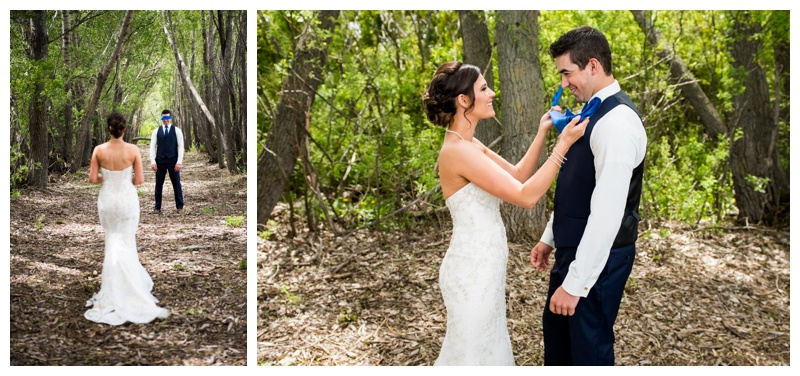 Is a First Look Right For You - Calgary Wedding Photographer