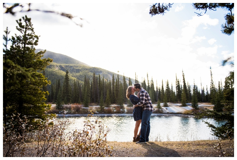 Kananaskis Engagement Photos - Canmore Engagement Photographer
