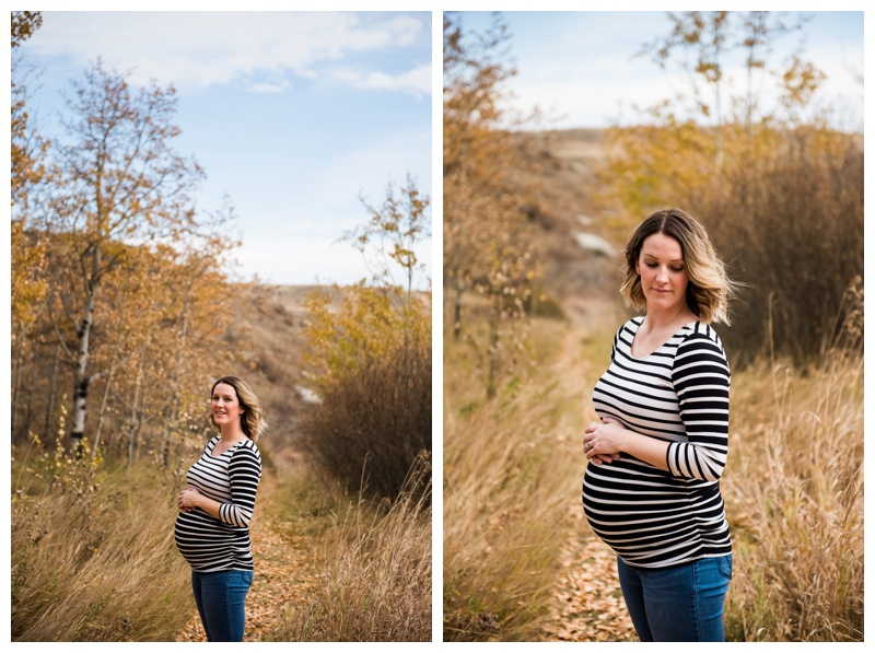 Maternity Photos - Cochrane Alberta