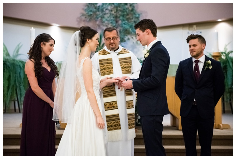 St. Patricks Catholic Church Wedding Ceremony