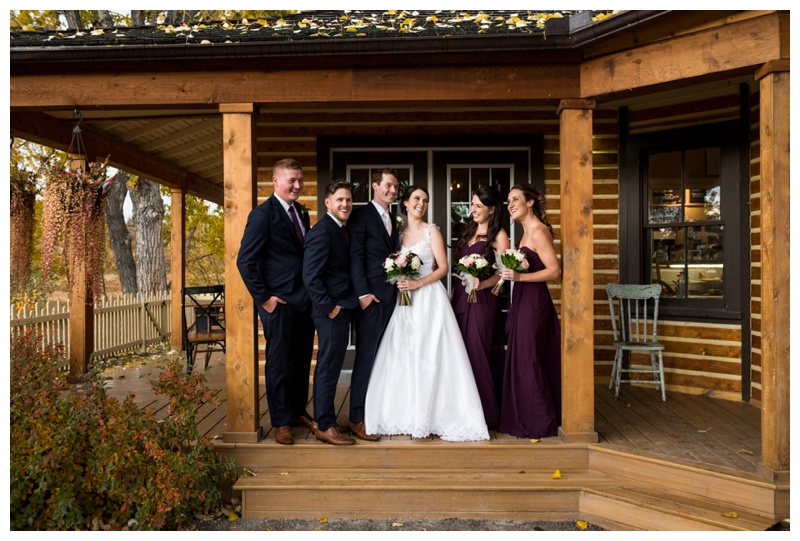 The Bow Valley Ranche Wedding - Calgary