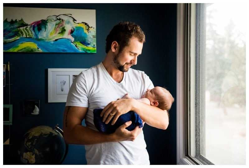 At Home Newborn Photography - Calgary Alberta