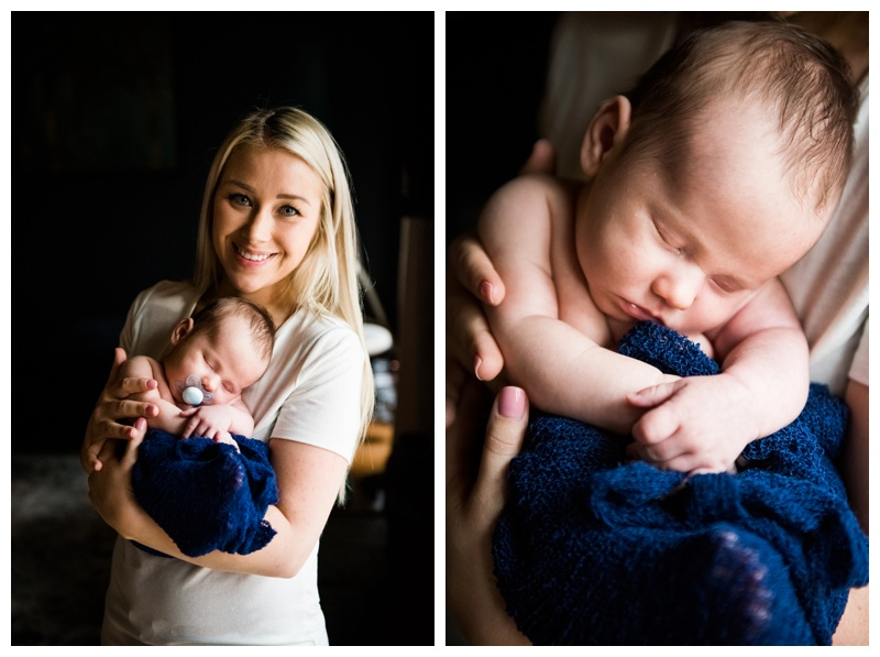 Lifestyle Newborn Photography Calgary Alberta