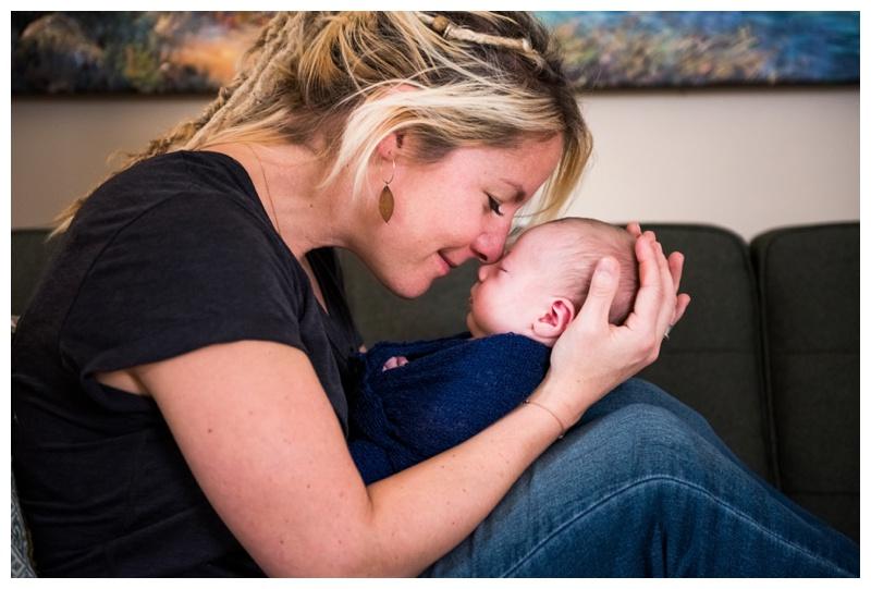 Lifestyle Newborn Photography Session Calgary