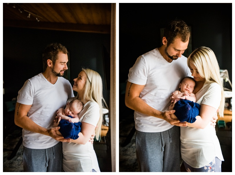 Lifestyle At Home Newborn Photography