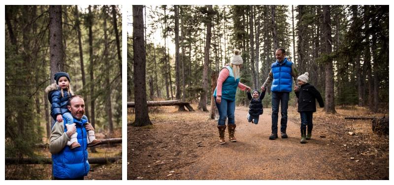 Winter Family Photographer Calgary