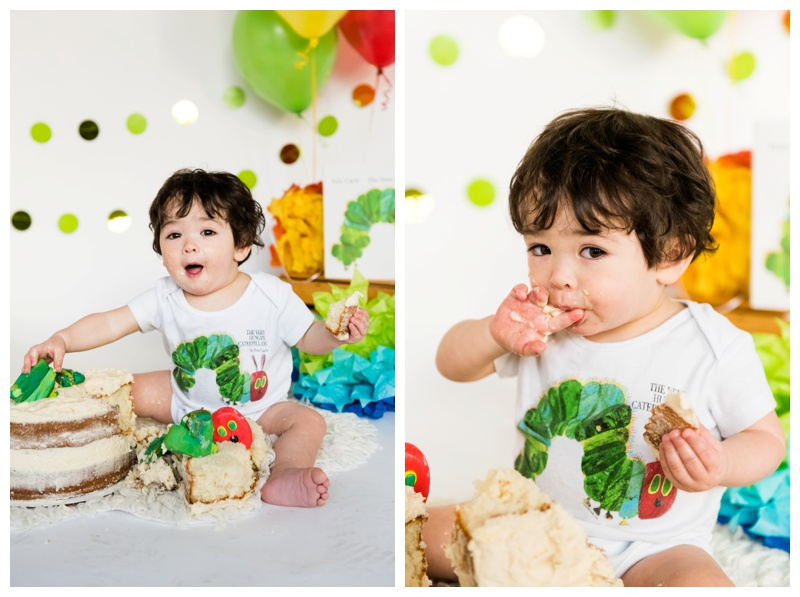Calgary 1st Birthday Cake Smash