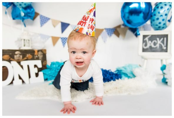 Okotoks Cake Smash Photography | Jack is ONE | Okotoks Cake Smash Photographer