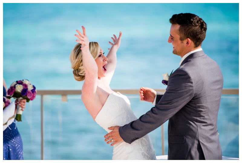 Cancun Destination Wedding Photographers - Now Jade Riviera Cancun