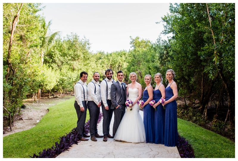 Destination Wedding Photography - Bridal Party Photos