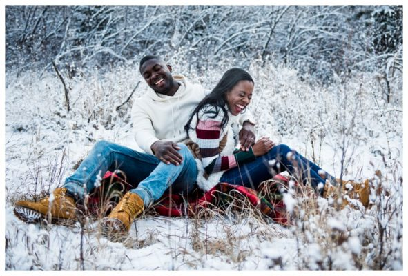 Calgary Winter Anniversary Photography | Jason & Shakeria | Calgary Photographer