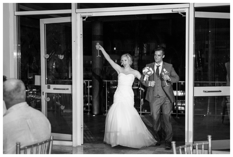 Grand Entrance - Calgary Wedding Photos