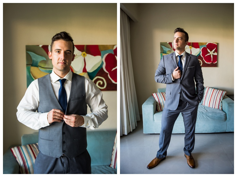 Groom Wedding Photography - Calgary Alberta