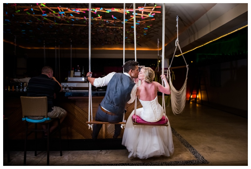 Mix Bar Wedding Photos - Now Jade Riviera Cancun - Calgary Wedding Photographer