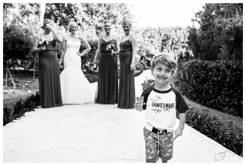 Now Jade Riviera Cancun Wedding - Bridal party Photography