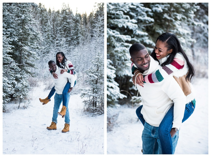 Winter Engagement Photography Calgary