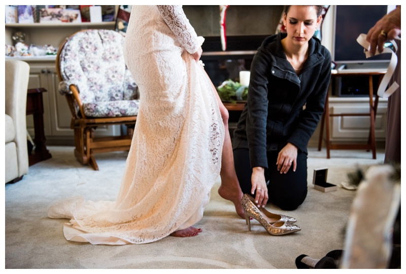 Calgary Bridal Prep - Calgary Wedding Photography