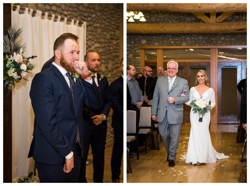 Calgary Wedding Ceremony - Calgary Wedding Photographer