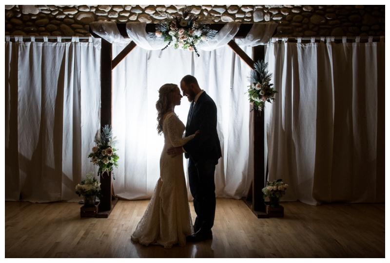 cochrane ranche house wedding ceremony calgary wedding