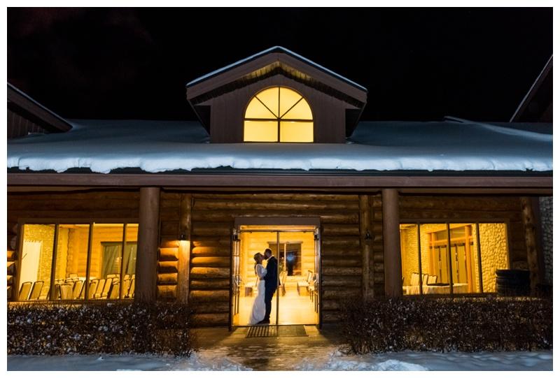 Cochrane Ranche House - Winter Wedding Ceremony