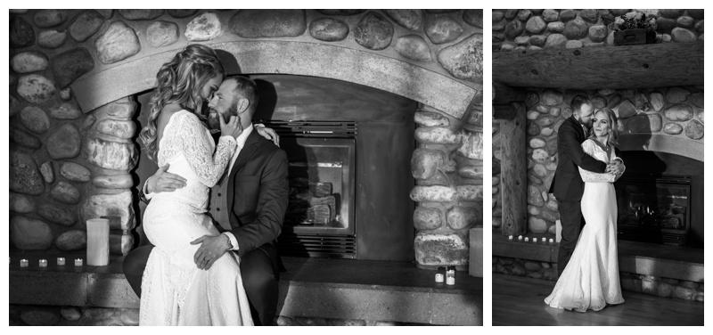 cochrane ranche house winter wedding calgary wedding