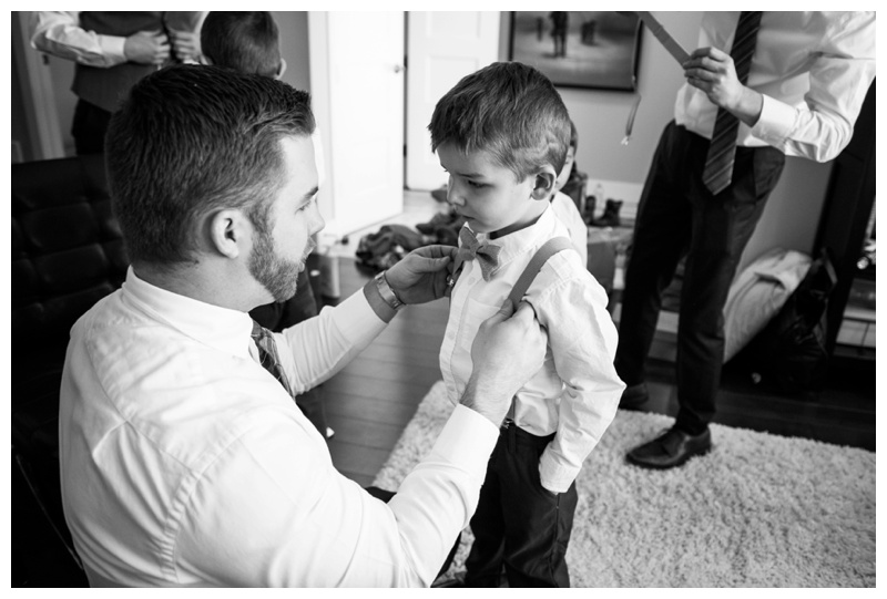 Groom Prep Wedding Photography