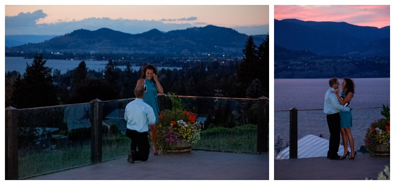 Kelowna Proposal Photography