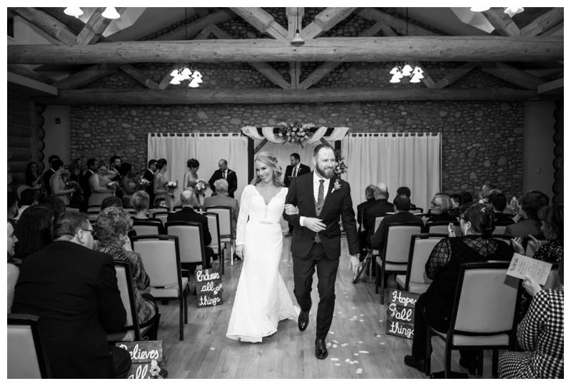 New Years Eve Wedding Ceremony - Cochrane Alberta