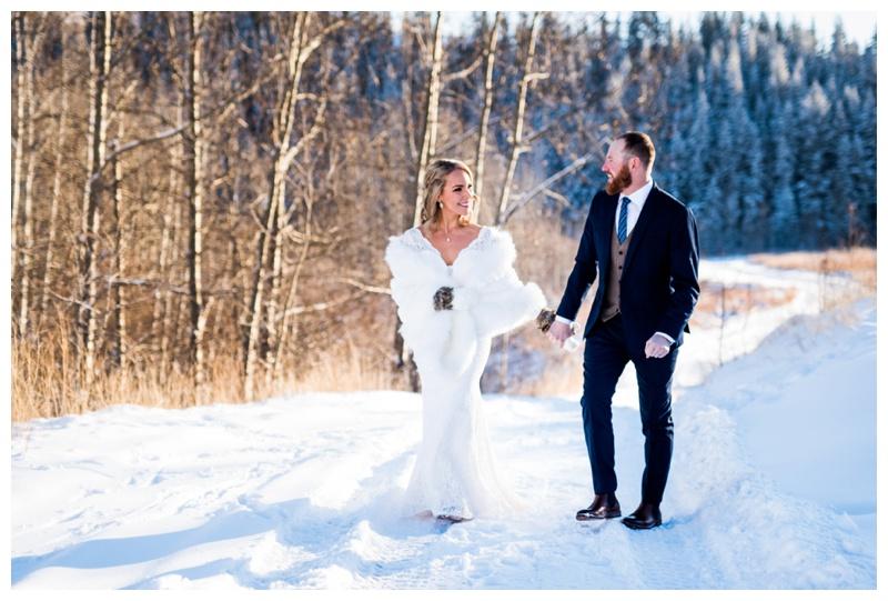 New Years Eve Wedding - Cochrane Alberta