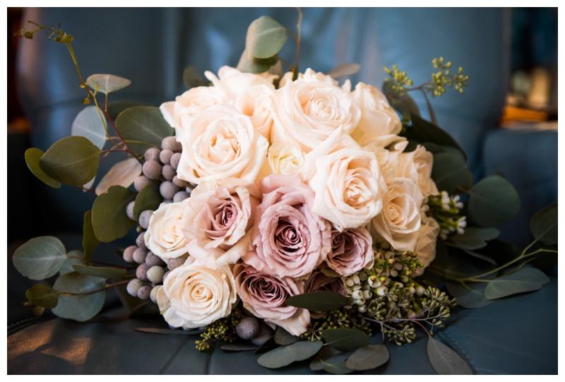 Winter Wedding Bouquet - Calgary Wedding