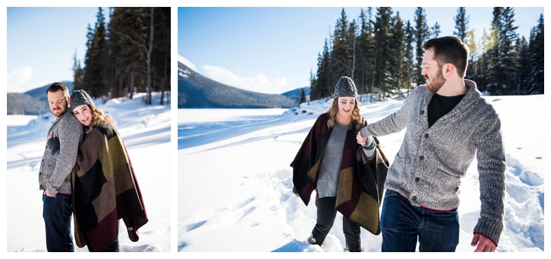 Banff Couple Photography