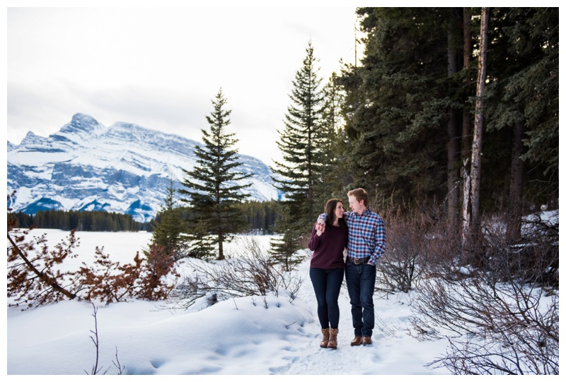 Banff Engagement Photographers