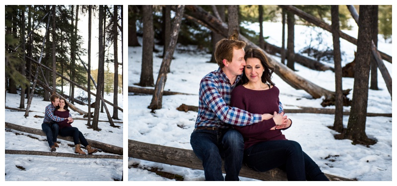 Banff Winter Engagement Session