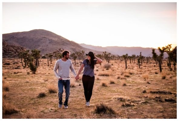 Joshua Tree Couple Session | Paul & Monica | Calgary Destination Wedding Photographer