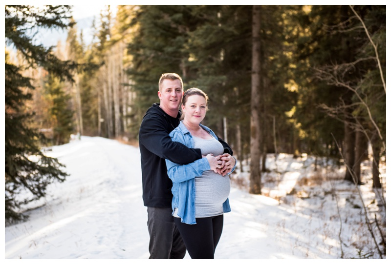 Canmore Alberta Maternity Photographer