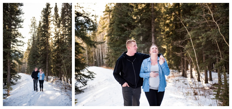 Town of Canmore Maternity Photography