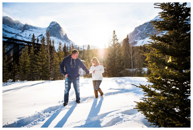 Canmore Mountain Maternity Photos