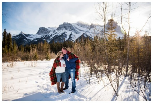 Canmore Pregnancy Photography | Ian & Tiffany | Canmore Maternity Photographer
