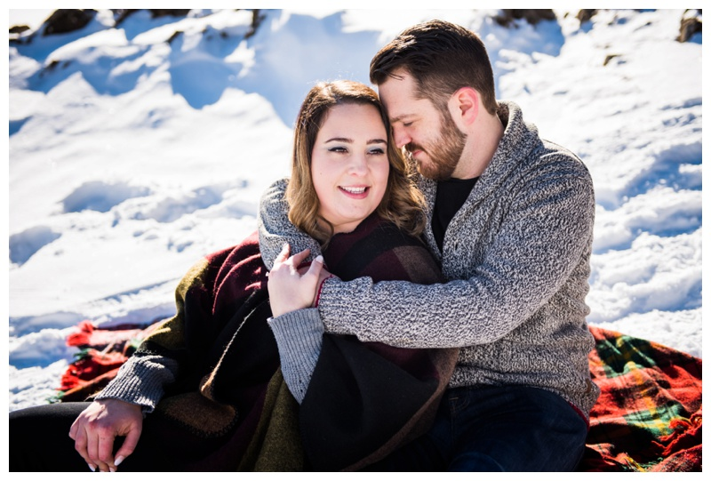 Engagement Photographers Banff Alberta