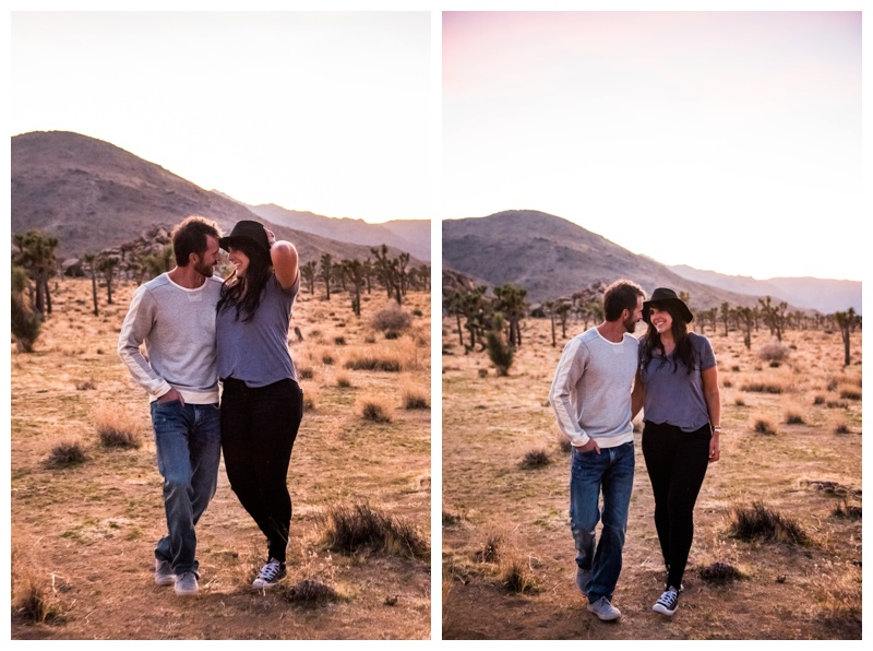 Joshua Tree Couple Session Photography