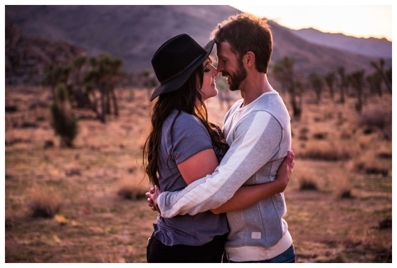 Joshua Tree Couple Session
