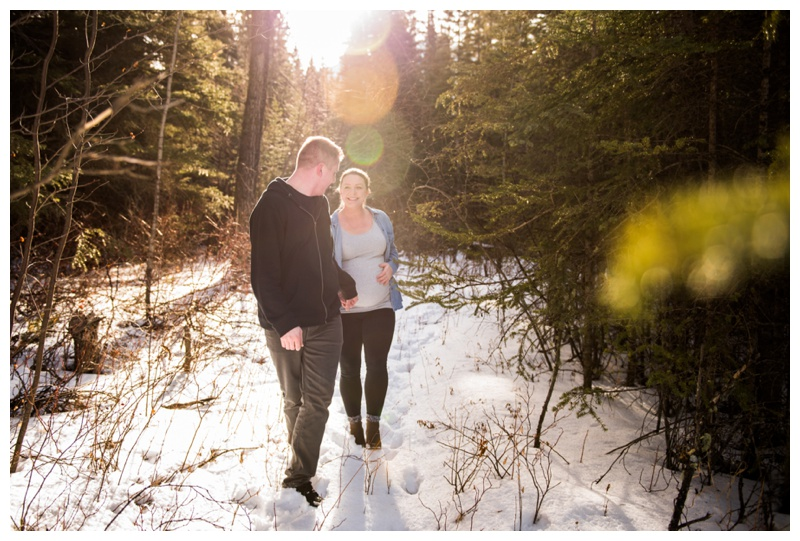 Maternity Photography Session canmore Alberta