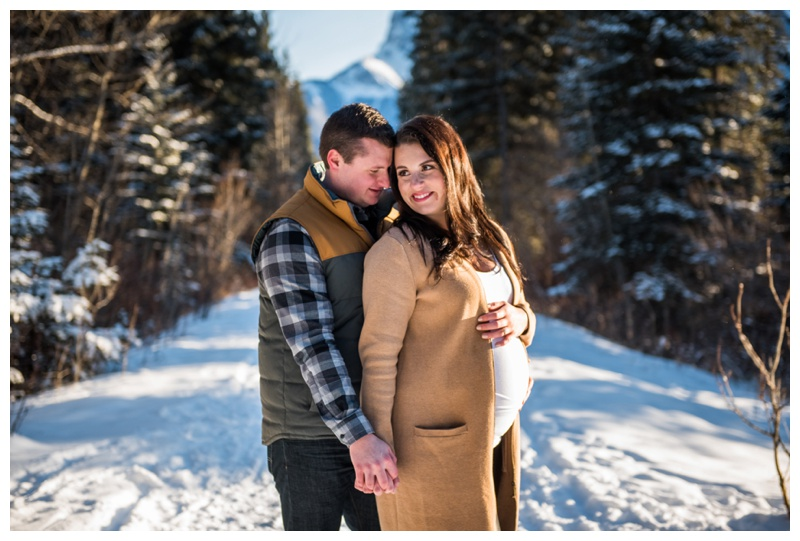 Maternity Photos Banff Alberta