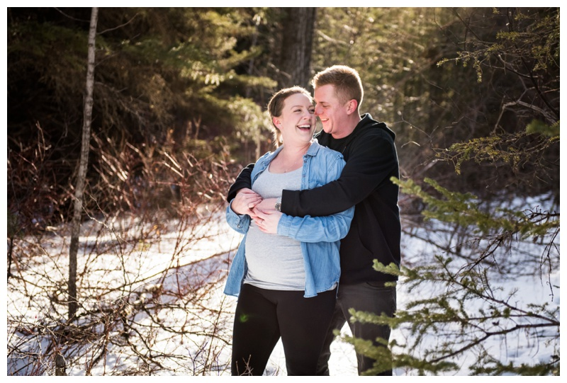 Maternity Photos Canmore