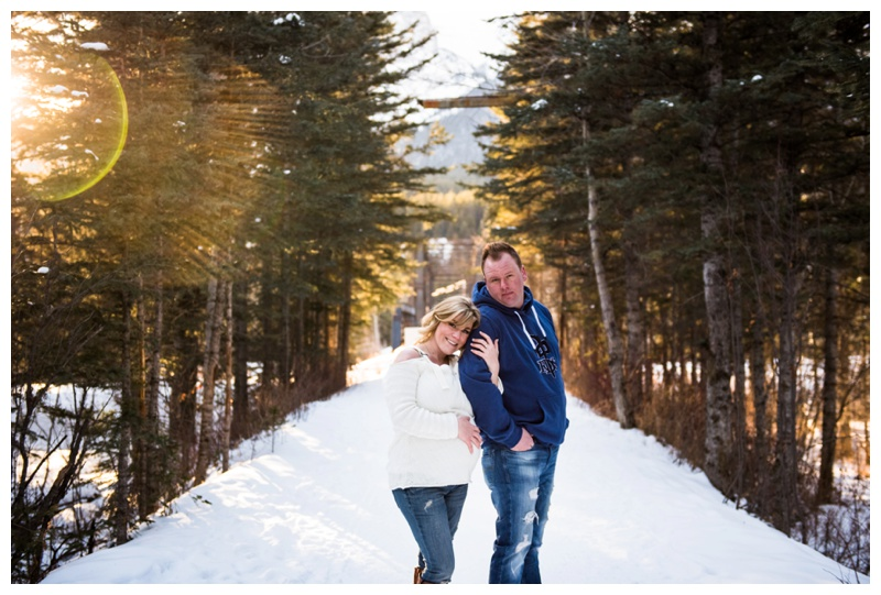 Canmore Pregnancy Photography