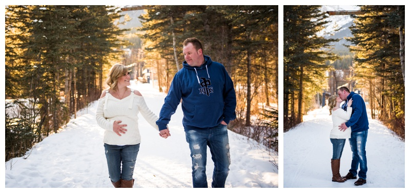 Mountain Pregnancy Photos Canmore
